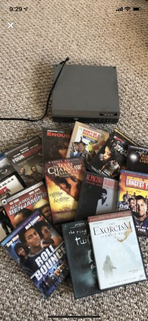 DVDs + player for Sale in Columbus, OH