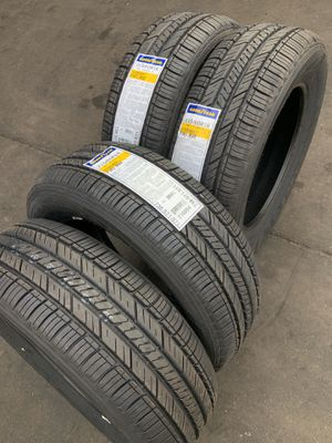 215/60/16 SET OF 4 NEW TIRES GOODYEAR FUEL MAX for Sale in Los Angeles, CA