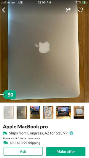 Macbook pro for Sale in Los Angeles, CA