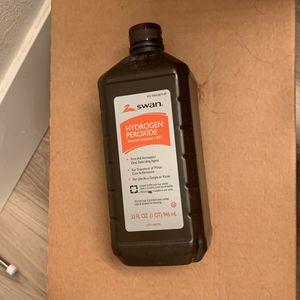 Hydrogen Peroxide Sealed! Bottle for Sale in Anaheim, CA