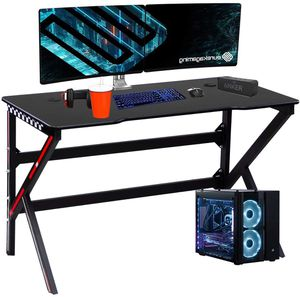 Gaming Table K Generation Computer Desk w USB Cable Accessory Professional Players Station Desk Personal Working Space Lap Desk 4 Steel Legs Desk | L for Sale in Los Angeles, CA