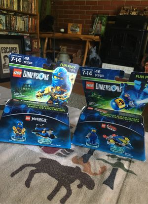 Brand New LEGO Dimensions Fun Packs for Sale in Berlin, CT