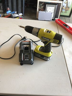 Ryobi cordless drill for Sale in Fort Myers, FL