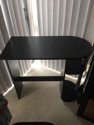 Small black desk for Sale in Washington, DC