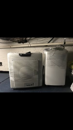 Small Washer machine and dryer set for Sale in Jersey City, NJ