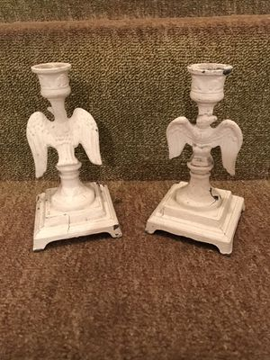 Antique American Candle holders for Sale in Wood-Ridge, NJ