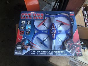 Captain America drone.and Spider-Man . for Sale in Kissimmee, FL