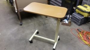Medical style overbed table for Sale in Kent, WA