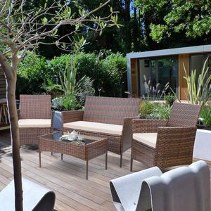 4-Piece Outdoor Patio Conversation Set (Purchase via PayPal Invoice with Free Shipping) for Sale in Philadelphia, PA
