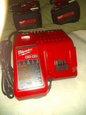 Milwaukee PACKOUT Drill/Driver and IMPACT set for Sale in Dickson, TN