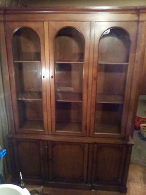 Antique China hutch great condition for Sale in Portland, OR