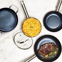 Copper Chef Black Diamond Ceramic Non-stick Stackable Cookware Set, 8 for Sale in Cleveland,  OH