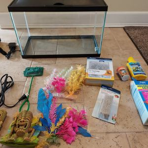 Complete Fish Tank Setup, Must See for Sale in Wakefield, MA