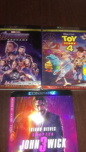 BRAND NEW 4K MOVIES for Sale in Tempe, AZ