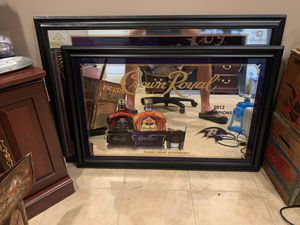 2012 Crown Royal Ravens Champions Mirror for Sale in Hagerstown, MD