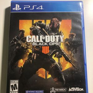 Black ops 4 PS4 for Sale in Baldwin Park, CA
