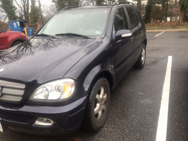2003 Mercedes Benz ML350 *116,000miles (sold as is)