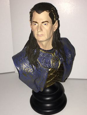 Lord of the Rings LOTR Gil-Galad Bust Figure Statue Sideshow Collectibles Limited Edition for Sale in Queens, NY