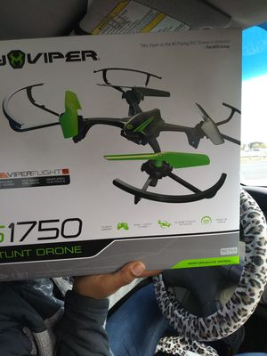 Brand new n box 45 s1750 stunt drone for Sale in Charlotte, NC