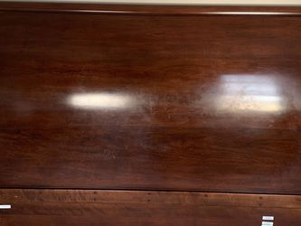 FREE!! Solid Cherry Sleigh Bed. With 2 Nightstands for Sale in Yorkville,  IL