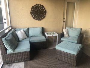 Pier1 imports outdoor patio furniture set for Sale in Miramar, FL
