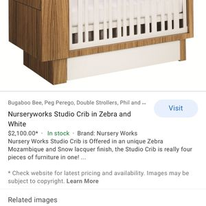 Nursery Works Luxury Crib for Sale in March Air Reserve Base, CA