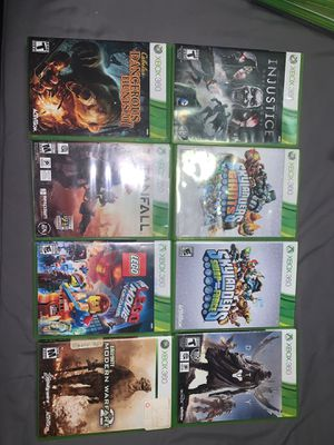 Xbox 360 games lots used for Sale in Alta Loma, CA