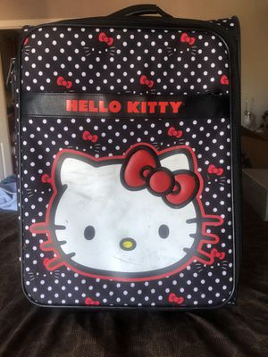 Hello kitty children's large suitcase for Sale in Vallejo, CA