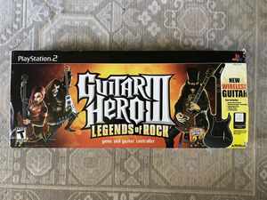 Guitar Hero 3 PS2 Guitar Dongle Game for Sale in North Haven, CT