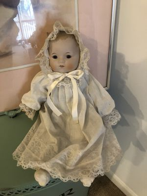 Antique porcelain baby doll for Sale in Grayslake, IL