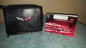 1998 Chevy Corvette Owner's Guide With Case for Sale in Oceanside, CA