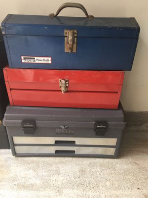 Tool box $25 each for Sale in Fairfax, VA