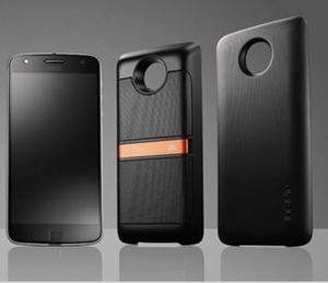 Moto z phone with JBL speaker attachment and battery pack attachment! for Sale in Young, AZ