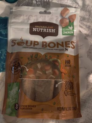 Nutrish soup bones treats for Sale in TEMPLE TERR, FL