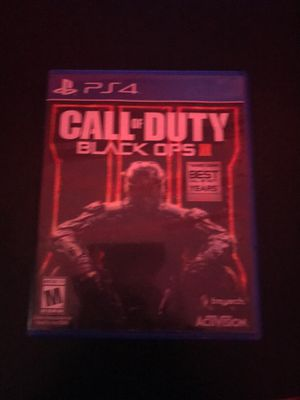Call of duty black ops 3 for Sale in Ellicott City, MD