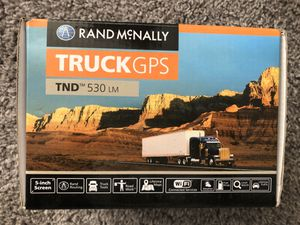 Rand McNally 530 truck gps for Sale in Dallas, TX