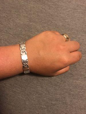 Heavy 925 Sterling Silver Men's Bracelet 12mm for Sale in San Jose, CA