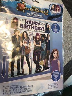 Birthday party decorations Descendants for Sale in Murfreesboro, TN