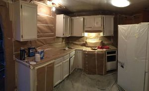 Kitchen cabinets refinishing for Sale in Lithonia, GA