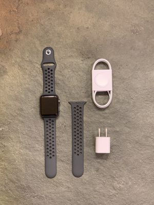 Apple Watch Series 3 Space Grey GPS/Cellular w/Nike Band for Sale in Highland, CA