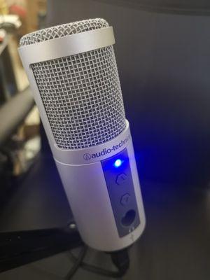 Audio-Technica ATR2500-USB Cardioid Condenser USB Microphone for Sale in San Jose, CA