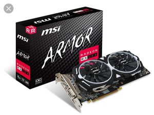 Msi Rx580 Armor OC 8gb - Never used for Sale in Los Angeles, CA