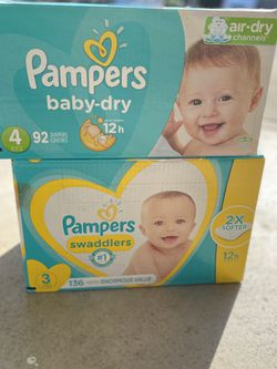 Pampers Diaper Bundle! for Sale in Richmond,  CA