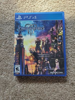 Kingdom Hearts 3 ps4 for Sale in Hayward, CA