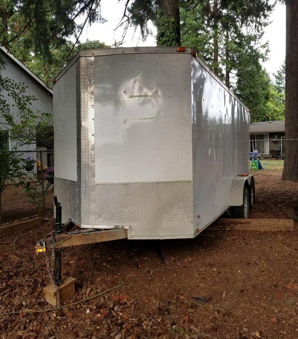 2017 V Nose Cargo Trailer, Enclosed, Dual Axle