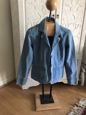 Denim button jacket, vintage, sz S for Sale in Silver Spring, MD
