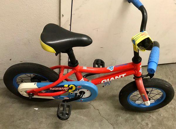 Giant brand 12 inch animator bike