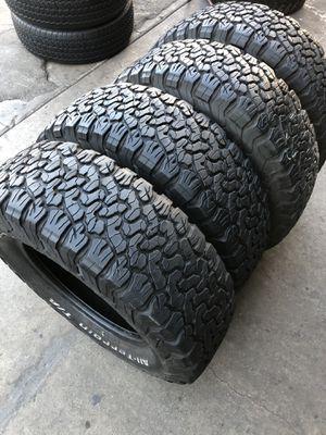 265/70R17 BFGoodRich ko2 tires (4 for $400) for Sale in Whittier, CA