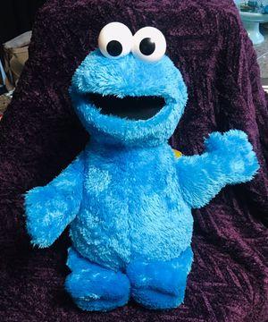 "Sesame Street Cookie Monster Jumbo Plush Stuffed Animal - 20"" for Sale in Tacoma, WA"
