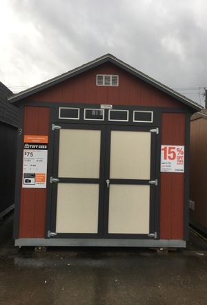 (6523) Tuff Shed Display TR800 10x12 was $4,768 now $4,053 for Sale in Porter, TX